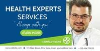 Health expert services facebook advertising b Reklama na Facebooka template