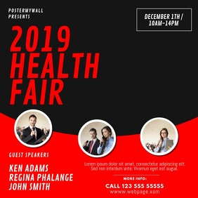 Health Fair Event Video Design Template