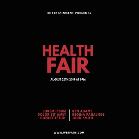 Health Fair Expo Video Design Template