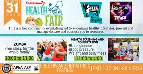health fair flyer examples