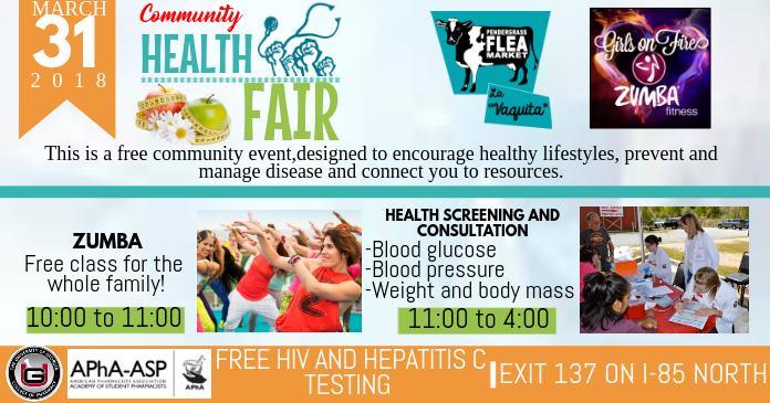 Health Fair Template Postermywall