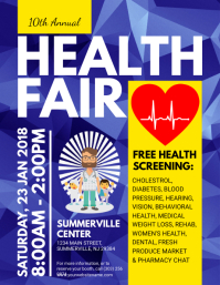 Customizable Design Templates for Health Fair | PosterMyWall