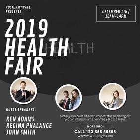 Health Fair Video AD Design Template