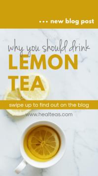 Health Food Blog Post Instagram Story