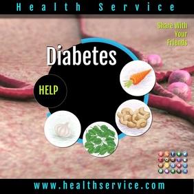 health insta2 Publicação no Instagram template