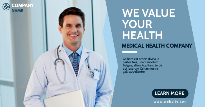 health medical banner advertisement Template   PosterMyWall