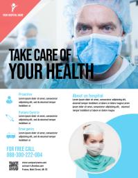 Health Medical Care Flyer