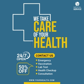 Health Service Post template