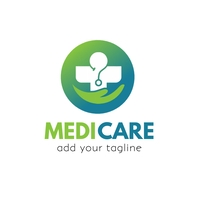 Healthcare | Medical | Hospital Logo โลโก้ template