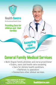 Healthcare Centre Flyer