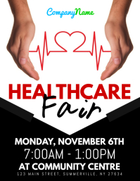 Healthcare Fair Flyer