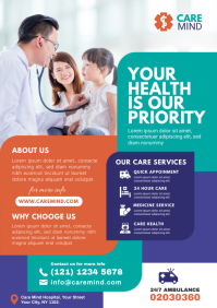 Healthcare Flyer Template A4
