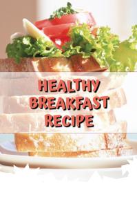 Healthy Breakfast Imagem do Pinterest template