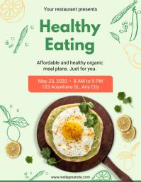 Healthy Breakfast Restaurant Flyer Template