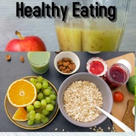 Healthy Eating Instagram Post template