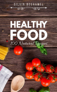Healthy Food Recipe Book Cover