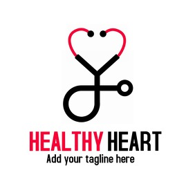 Healthy heart medic logo
