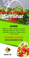 Healthy Nutrition Seminar Flyer