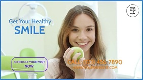Healthy Smile Digital Display (16:9) template
