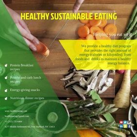 Healthy Sustainable Eating