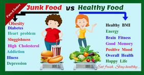 Healthy vs junk
