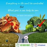 healthy vs junk food