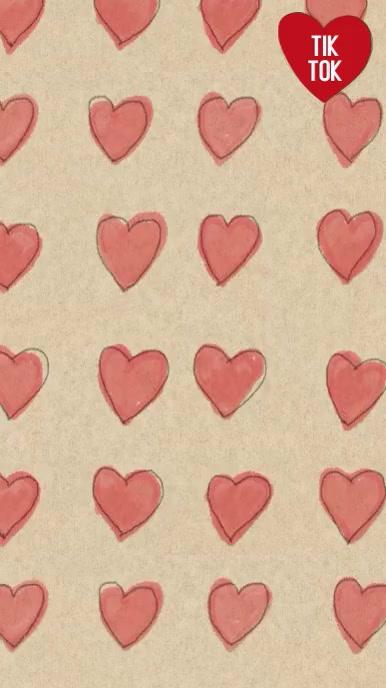 Heart drawings animation tiktok background Instagram Story template