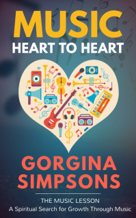 Heart Kindle music book cover template