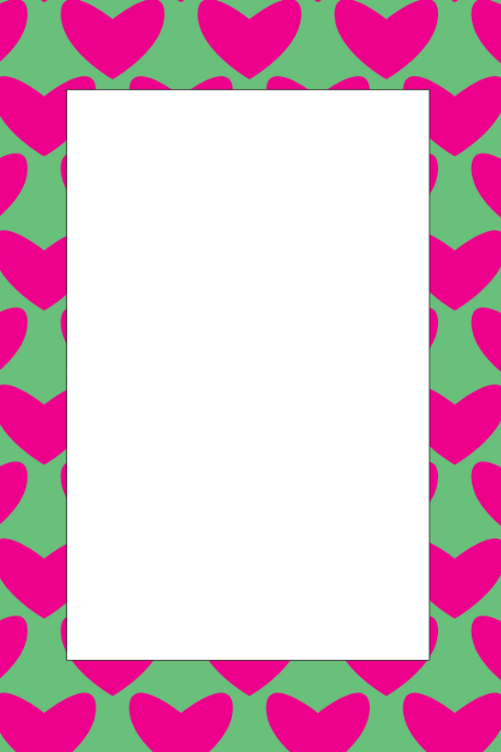 Heart Part Prop Frame Template | PosterMyWall