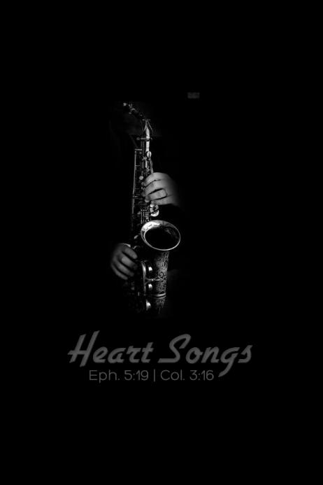 Heart Songs Banner 4 x 6 fod template