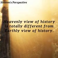 Heaven Perspective Video Social Media Templat Instagram-Beitrag template