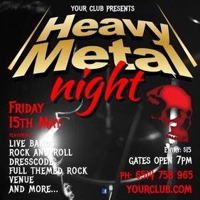 Heavy Metal Night video Post