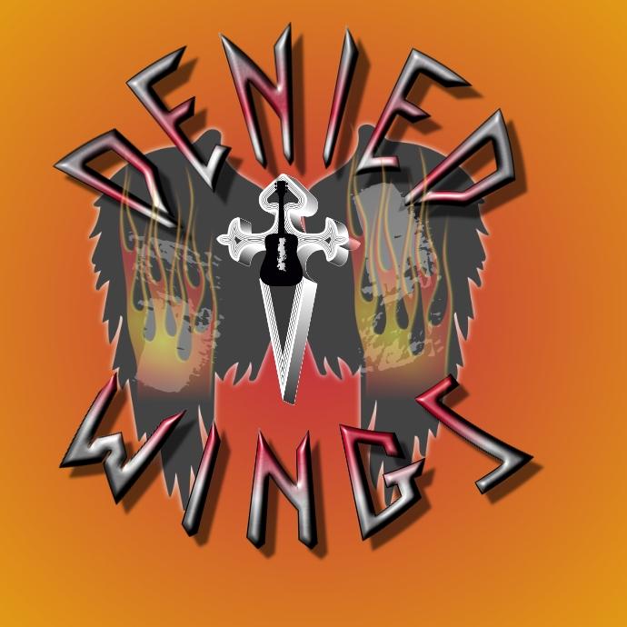 Heavy Metal Wings Logo template