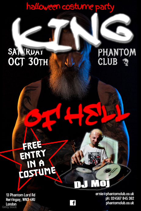 Hell party poster