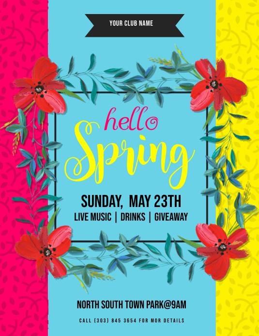 Hello Spring Flyer
