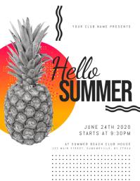 Hello Summer Flyer