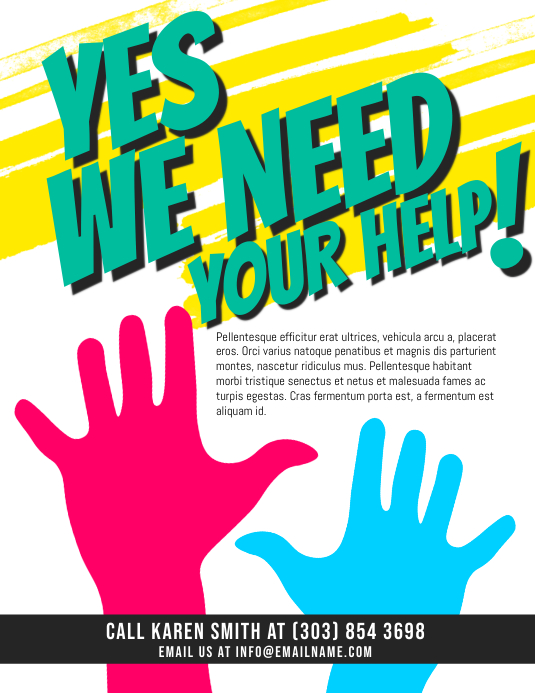 Help Wanted Flyer