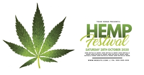 Hemp Festival Facebook Event Poster