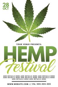 Hemp Festival Poster