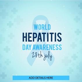 Hepatitis Day Awareness Template