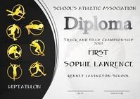 heptathlon diploma first