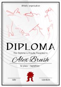 heptathlon diploma