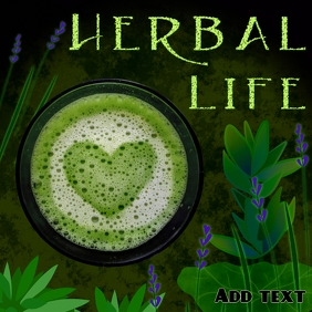 herbal life - green herbs as a lifestyle