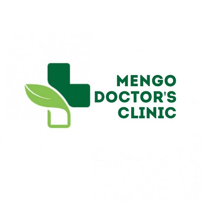 herbal medicine logo Logotipo template