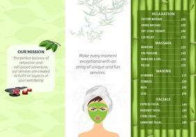 Herbal Spa Brochure Back