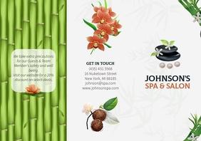 Herbal Spa Brochure Front
