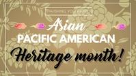 Heritage month Digital na Display (16:9) template