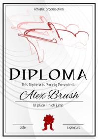 high jump diploma