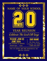 High School Reunion Flyer