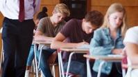 High school students in classroom ตัวอย่างภาพบน YouTube template